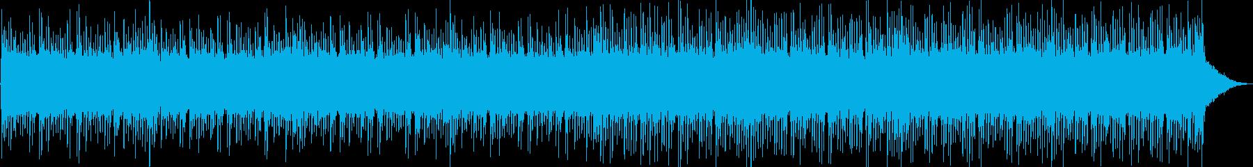 和風・疾走感・ロック・三味線の再生済みの波形