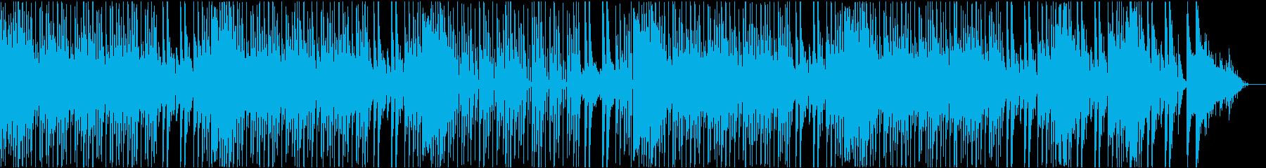 スキャットのかわいいポップロックの再生済みの波形