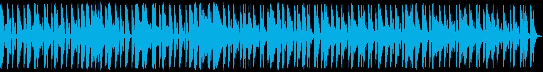アップテンポ、緊急、ポップジャズの...の再生済みの波形