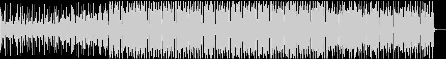 アップテンポでハッピーなハウスBGMの未再生の波形