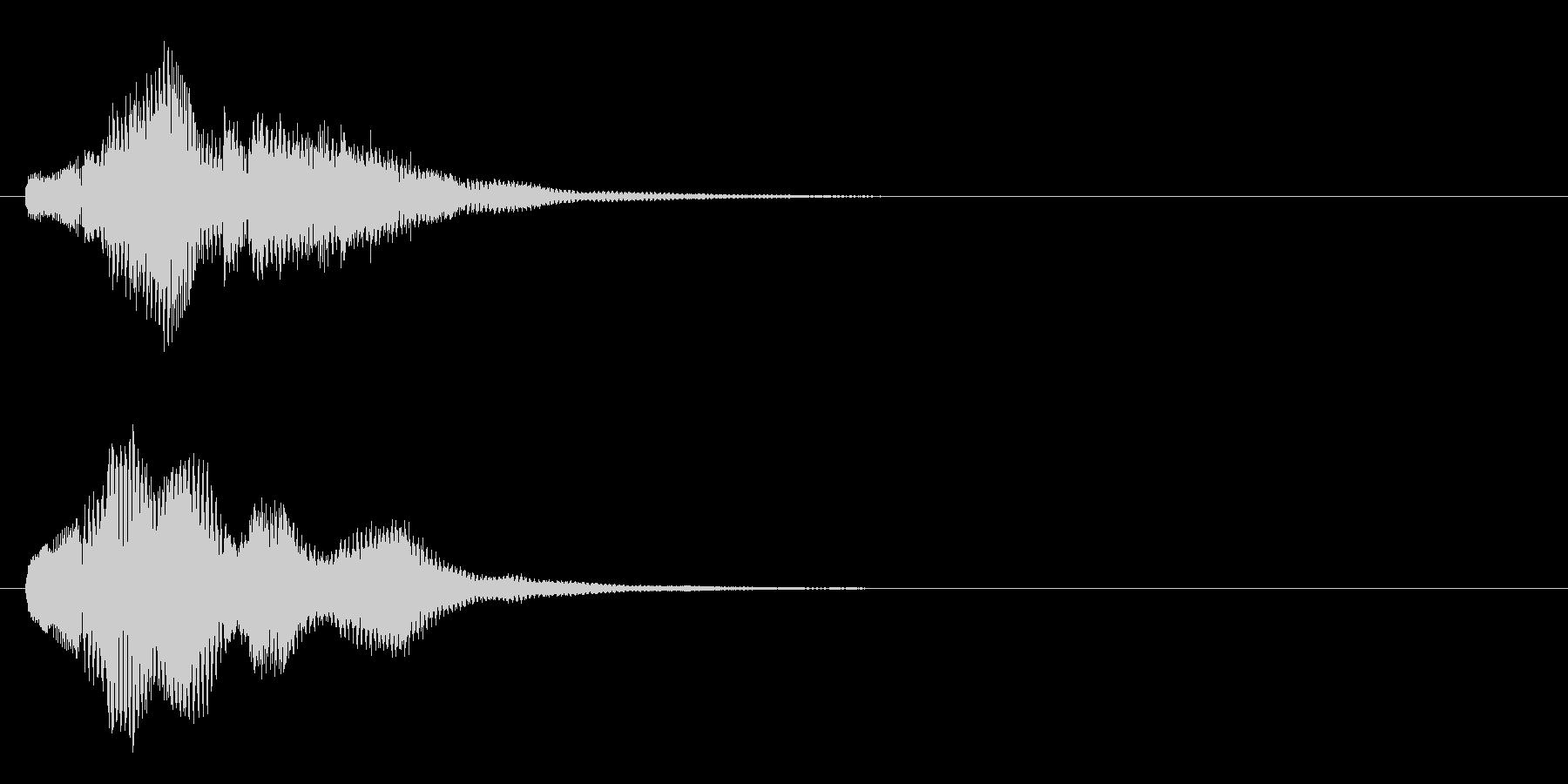 ハープ・上昇_5-3の未再生の波形