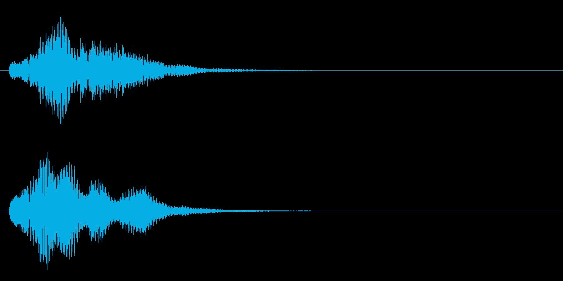 ハープ・上昇_5-3の再生済みの波形