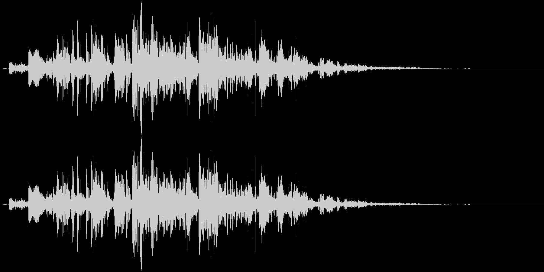 鎖を動かす音11【短い】の未再生の波形