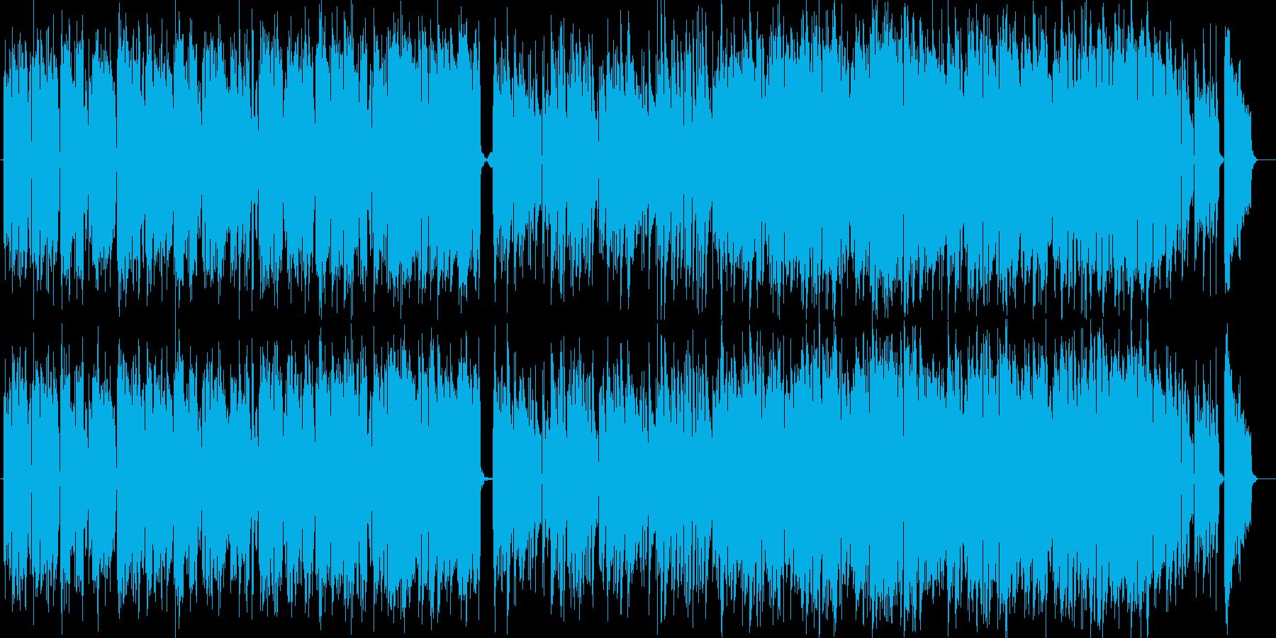 アコーディオンがおしゃれなボサノヴァの再生済みの波形