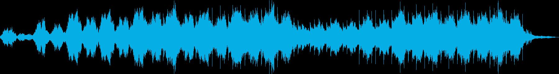 静かな壮大さを感じるストリングス曲の再生済みの波形