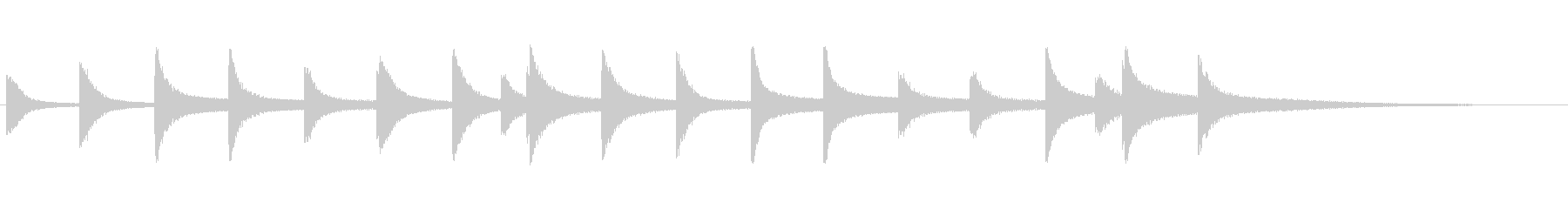 MUSICAL STATEMENT...の未再生の波形