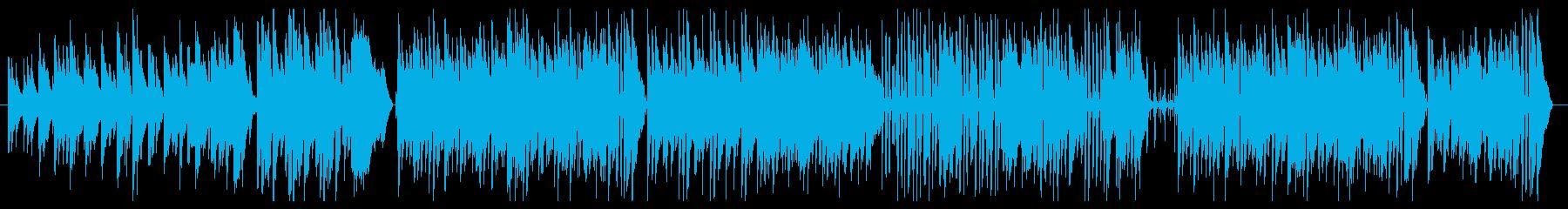 ジングルベル ピアノメインのジャズの再生済みの波形