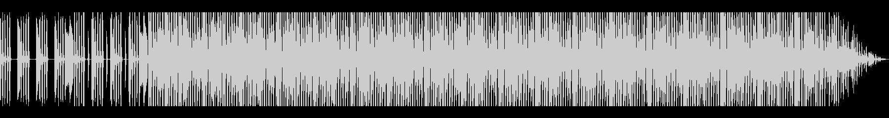 オシャレな夜のドライブ風シティポップの未再生の波形