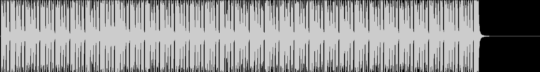 【TV・ラジオ】フラットなニュースBGMの未再生の波形