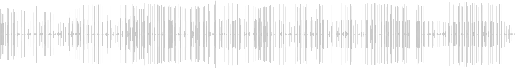 電信キー:MORSE CODEを送...の未再生の波形