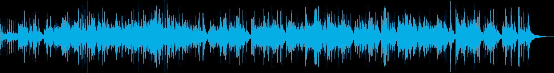 切ないソロピアノのバラードの再生済みの波形