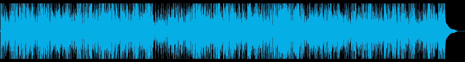 軽快で疾走感のあるカントリーミュージックの再生済みの波形