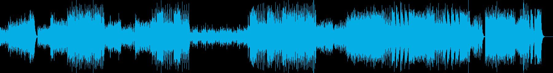 ウイリアムテル序曲の再生済みの波形