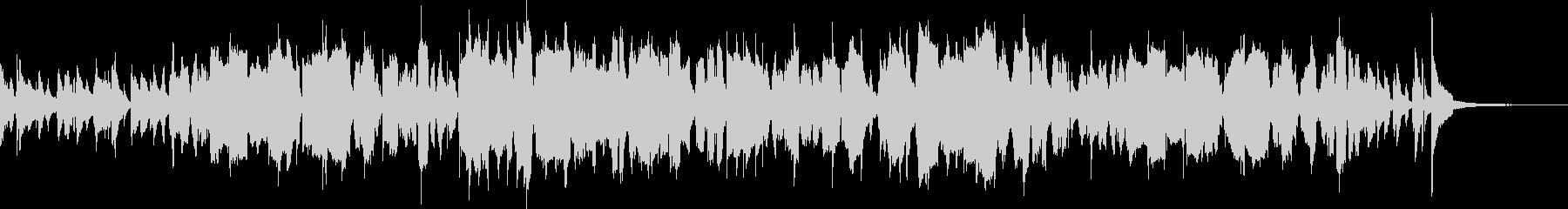 フレンチホルンによるコミカルなジャズの未再生の波形
