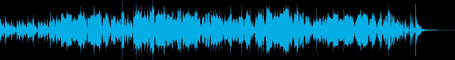 フレンチホルンによるコミカルなジャズの再生済みの波形