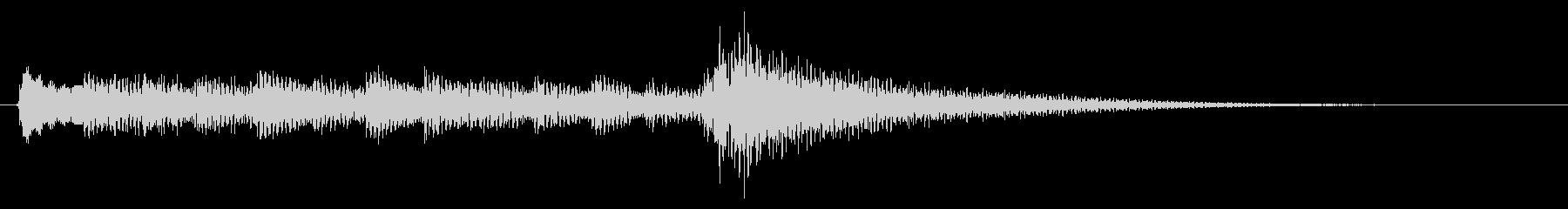 ★アコギ生音のジングル/おしゃれ5の未再生の波形
