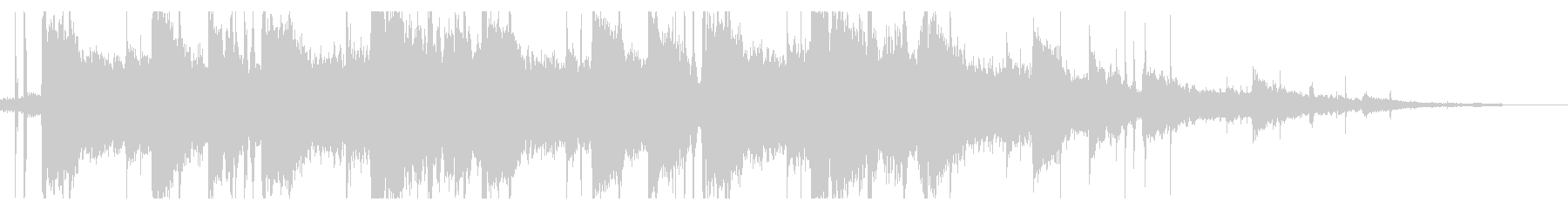 海/ローファイ_No404_2の未再生の波形