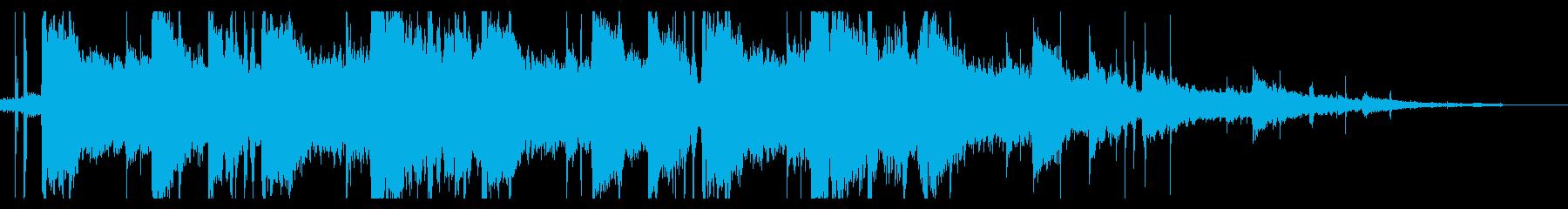 海/ローファイ_No404_2の再生済みの波形
