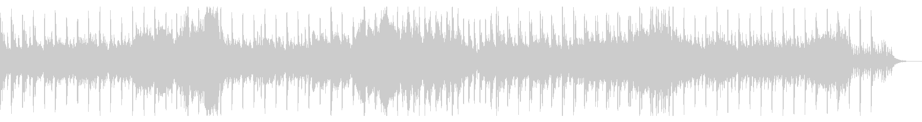 三拍子オルゴール風やや不気味なハロウィンの未再生の波形