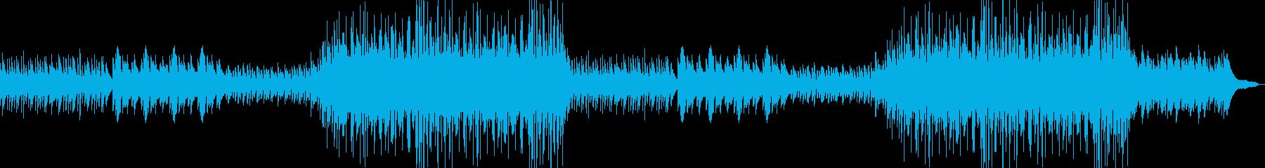 希望・切ない・感動的・バラードの再生済みの波形