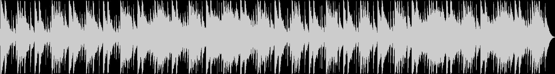 和楽器で構成された祭り囃子の未再生の波形