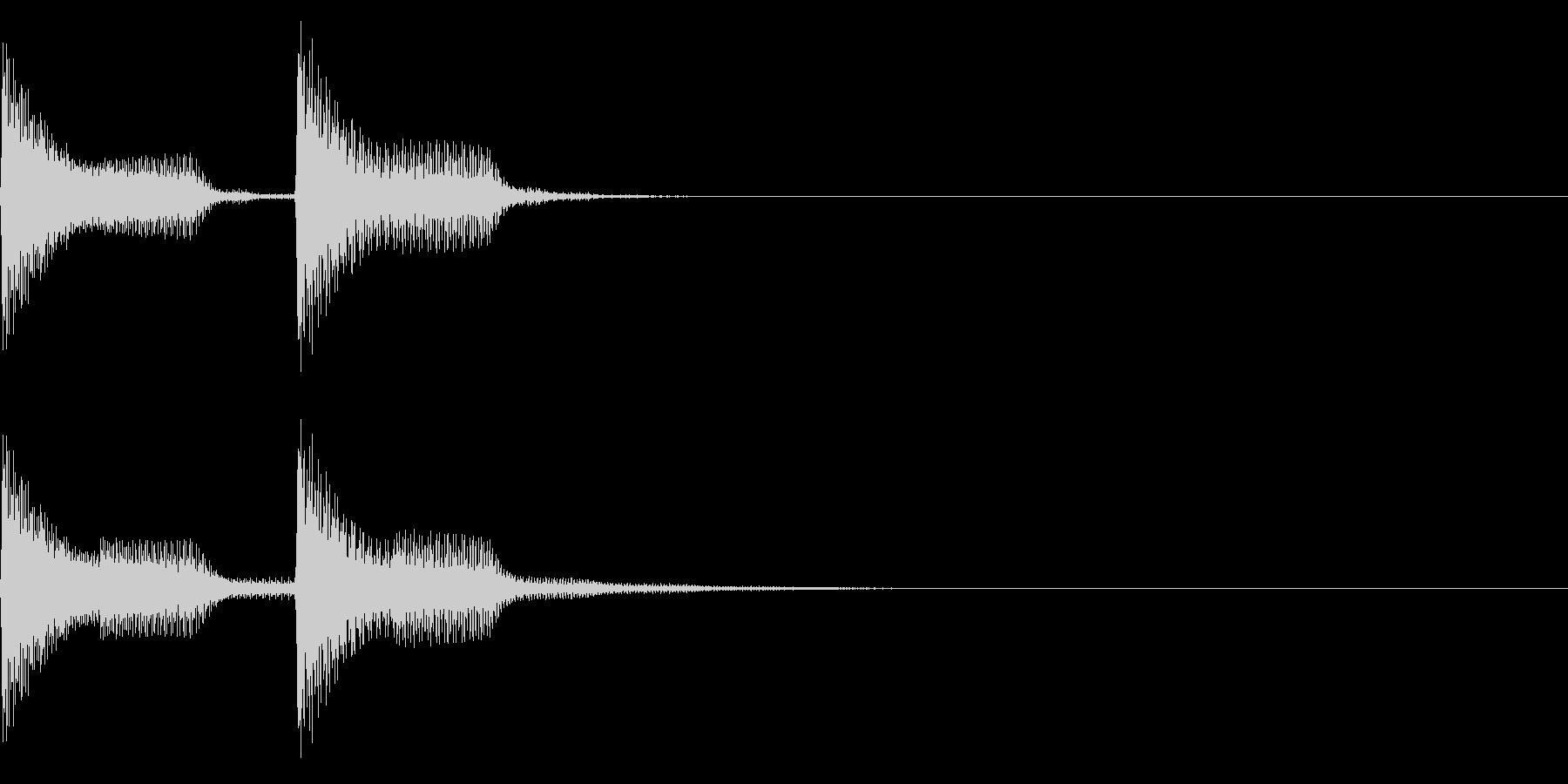 シャーン(ファミコン/美しい雰囲気の未再生の波形