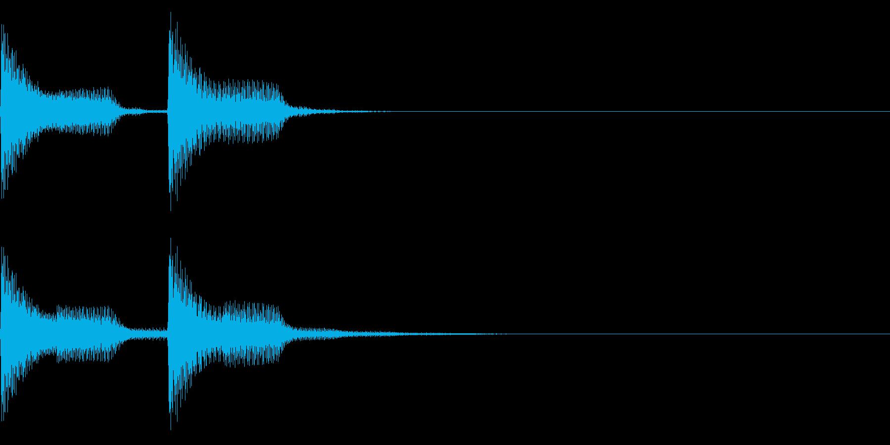 シャーン(ファミコン/美しい雰囲気の再生済みの波形