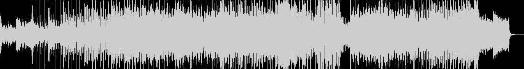 ピアノとシンセが印象的なエレクトロニカの未再生の波形