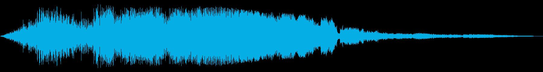 F1などのレース、エンジン音に最適!34の再生済みの波形
