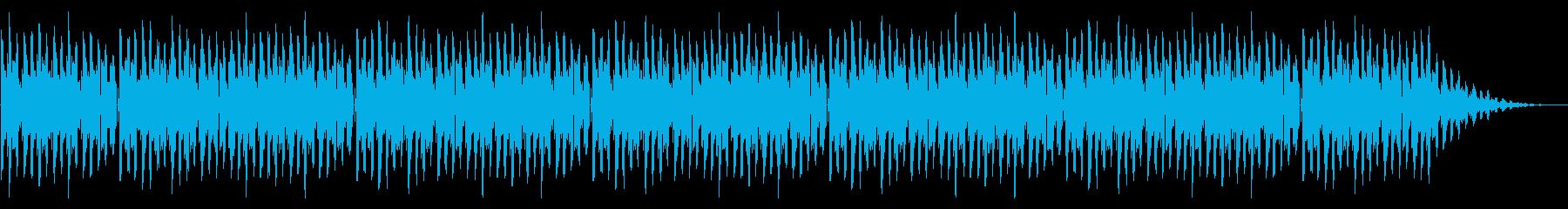 GB風対戦格闘ゲームのストーリー曲の再生済みの波形