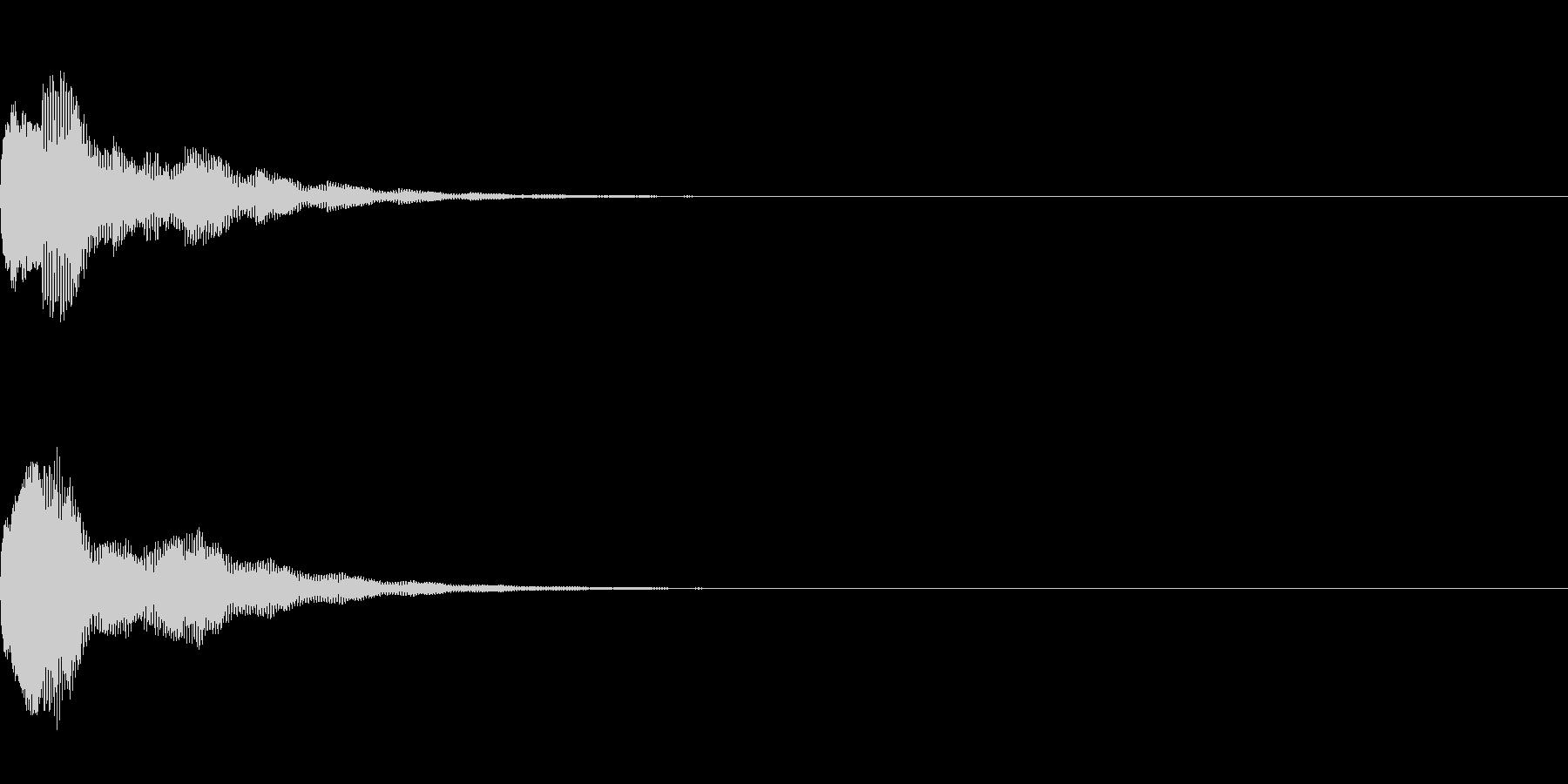 ピウォーン(決定_2)の未再生の波形
