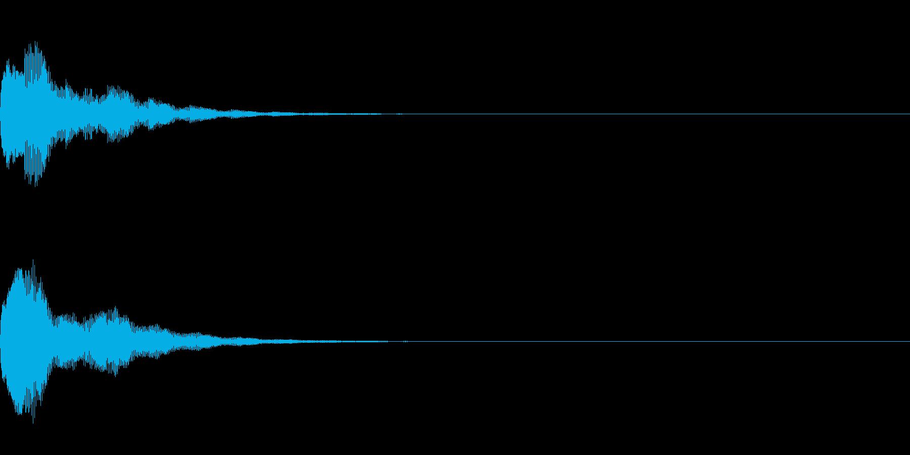 ピウォーン(決定_2)の再生済みの波形