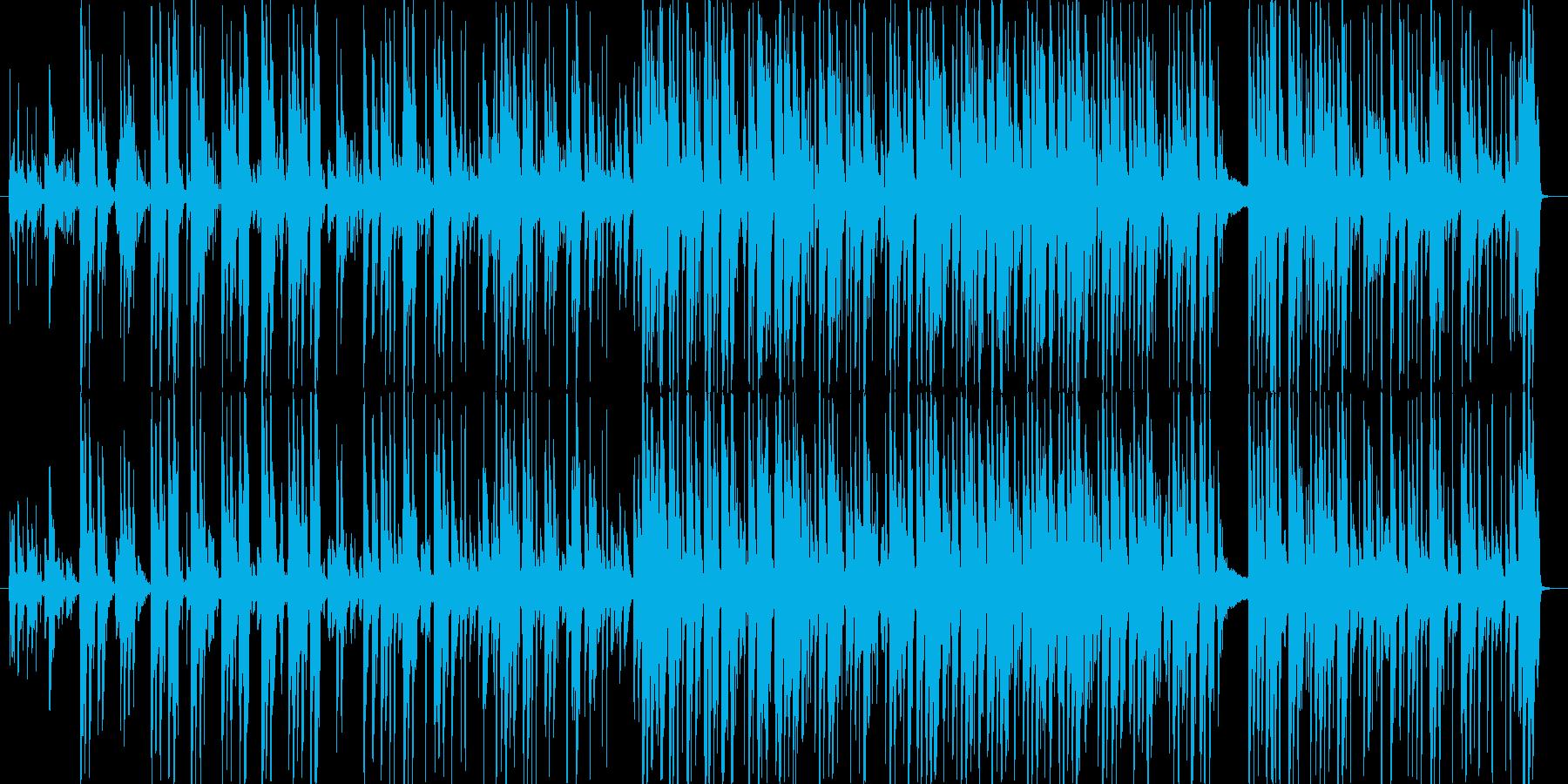 楽しげで軽快なCM向けストリングジャズの再生済みの波形