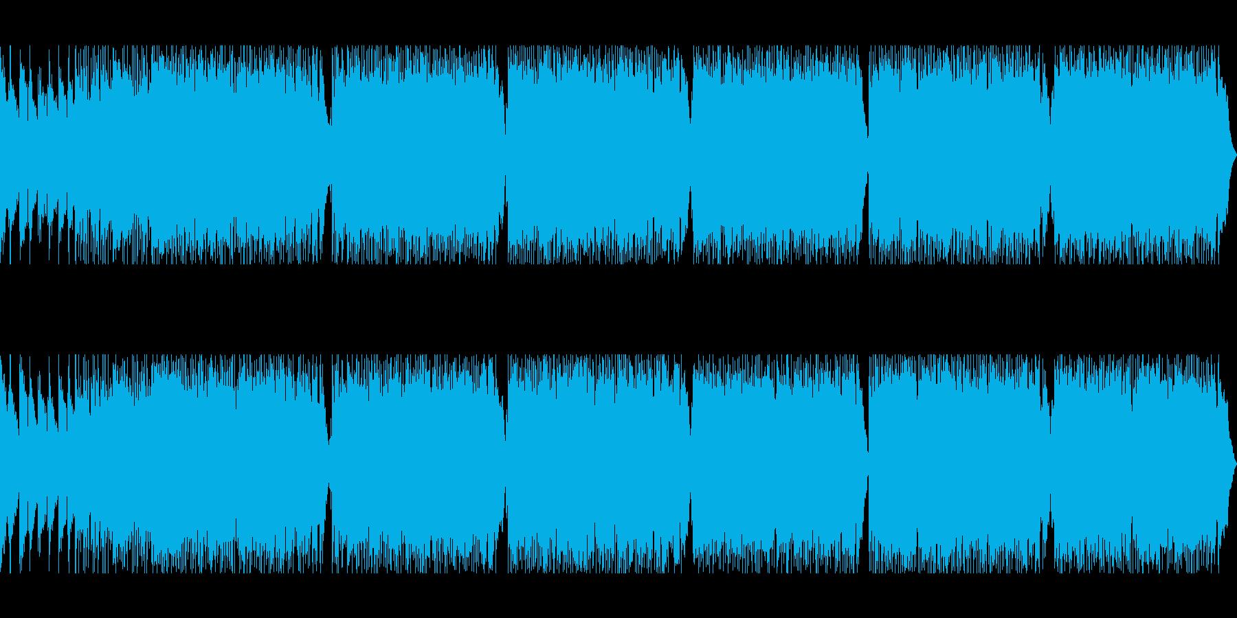 ポップロック。ギターソロ。の再生済みの波形