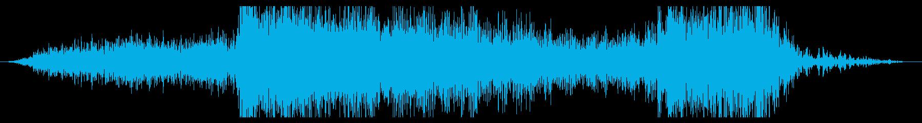 宇宙船またはビークル:クラッシュの再生済みの波形