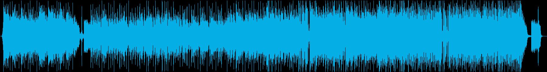 アコギでゆったりとしたインスト曲の再生済みの波形