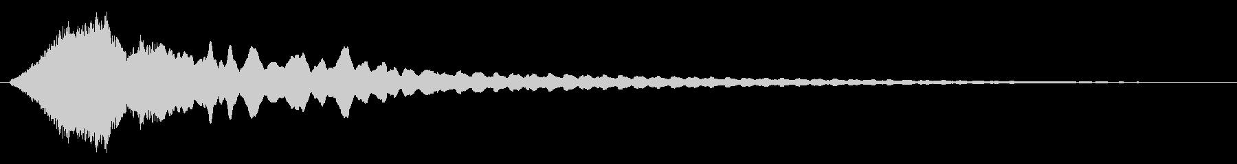 上昇 ライジングビー01の未再生の波形