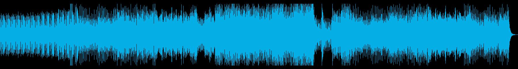 戦闘がテーマのポップロックの再生済みの波形