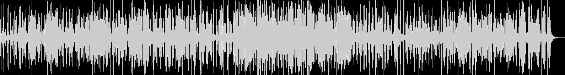 ゆったりテンポのオールドタイプジャズの未再生の波形