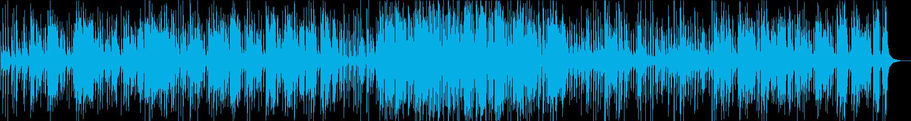 ゆったりテンポのオールドタイプジャズの再生済みの波形