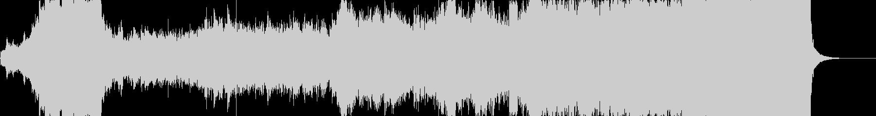 Genesisの未再生の波形
