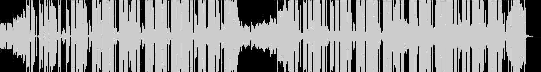 Future Bass Musicの未再生の波形