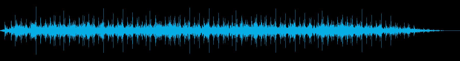 背景音 ホラー 4の再生済みの波形