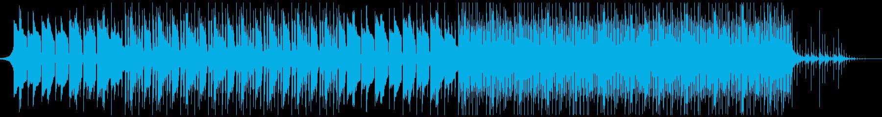 企業VP、ピアノ、4つ打ち、No.4-4の再生済みの波形