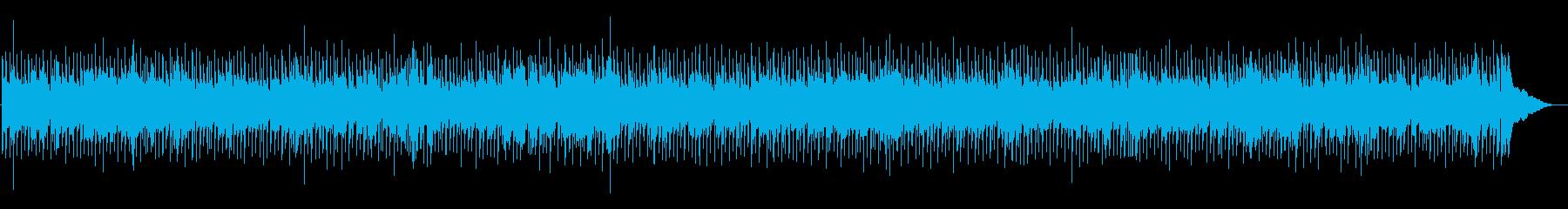 普通のカントリーの再生済みの波形