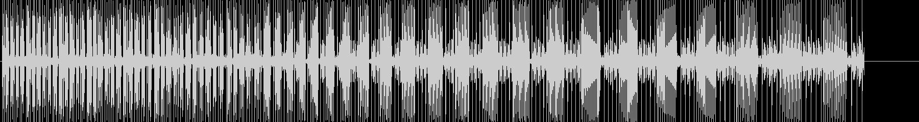 パワーダウンの音です。の未再生の波形