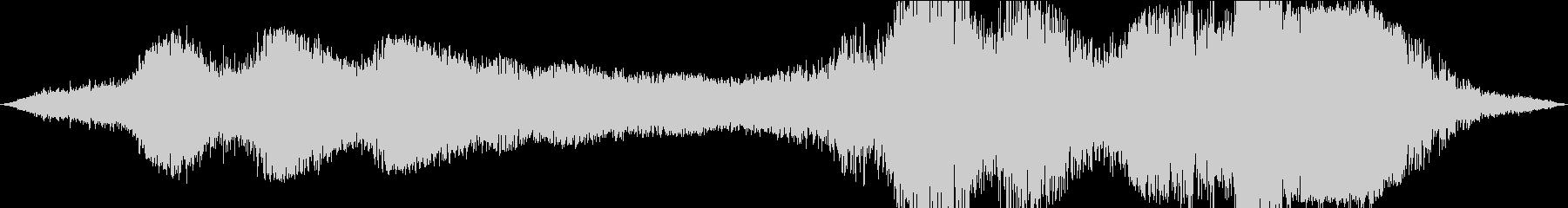 深みのある低音アクセント、SFの未再生の波形