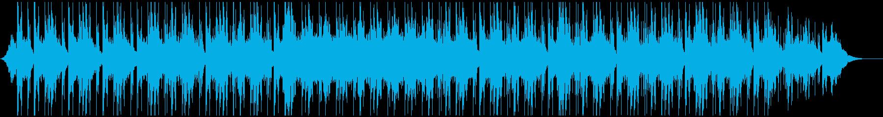 落ち着いた雰囲気のオシャレな洋楽風BGMの再生済みの波形