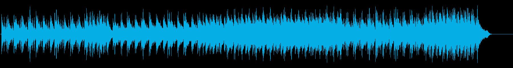 エモーショナルにゆらめくポップ・バラードの再生済みの波形