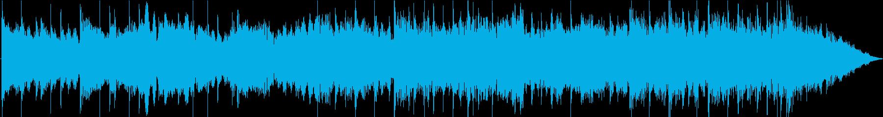 シリアスなエピック系30秒ジングルの再生済みの波形